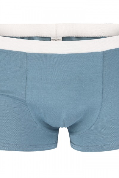 Organic men s trunk boxer shorts grey