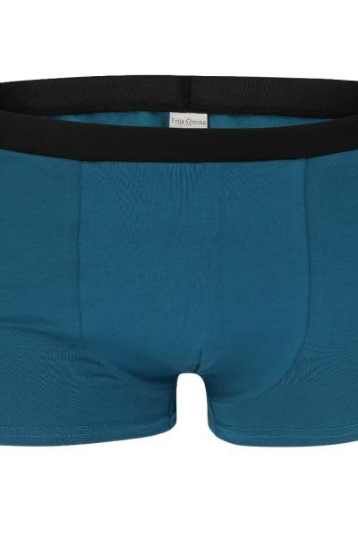 Organic men s trunk boxer shorts teal