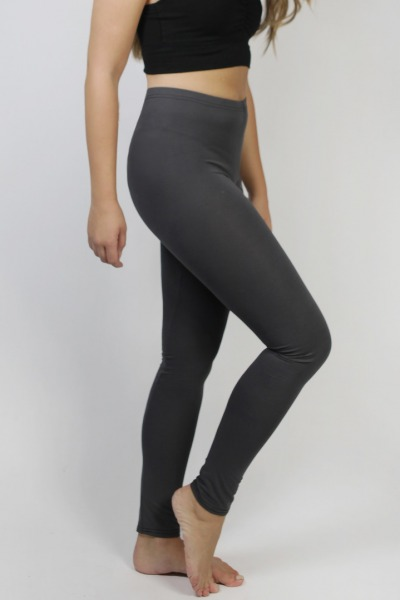 Bio Leggings anthrazit