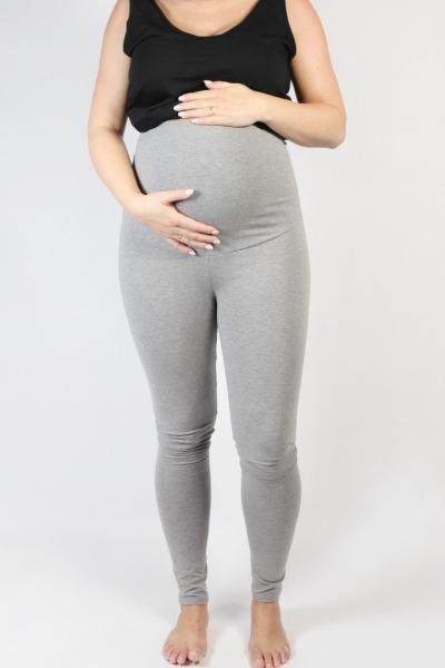 Organic leggings Mama tinged in light