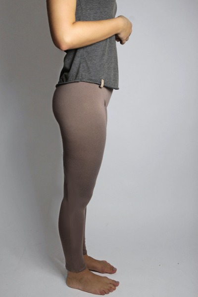 Organic Leggings taupe