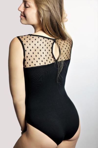 Organic body Spitze D black