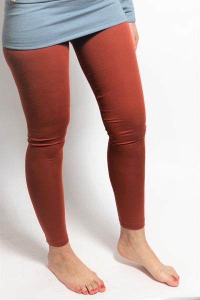 Organic Leggings rust