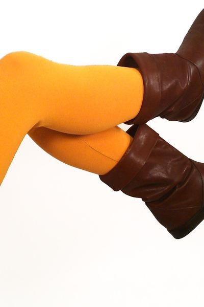 Organic Leggings saffron