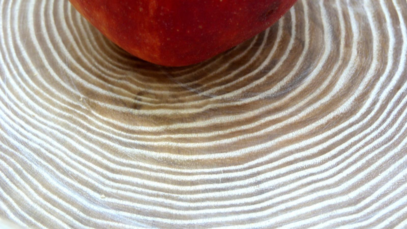 Holzschale weiß aus Lindenholz 12