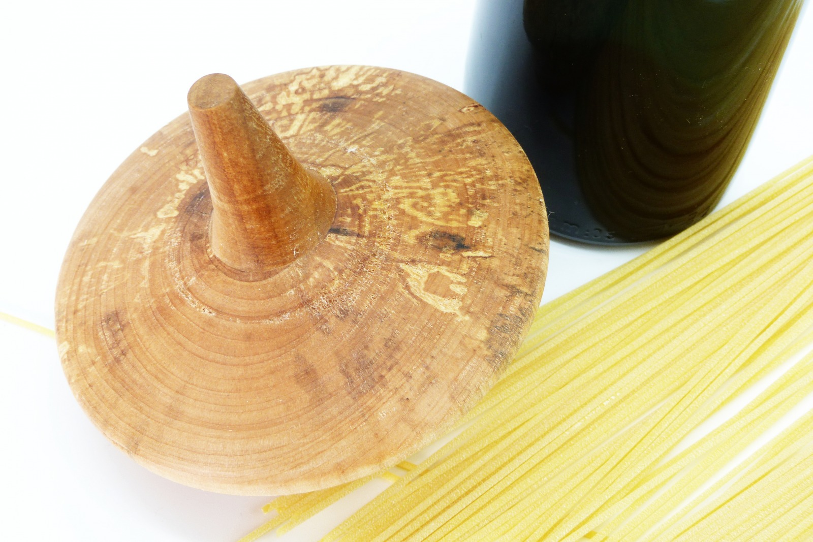 Spaghettiglas mit Kreiseldeckel 13