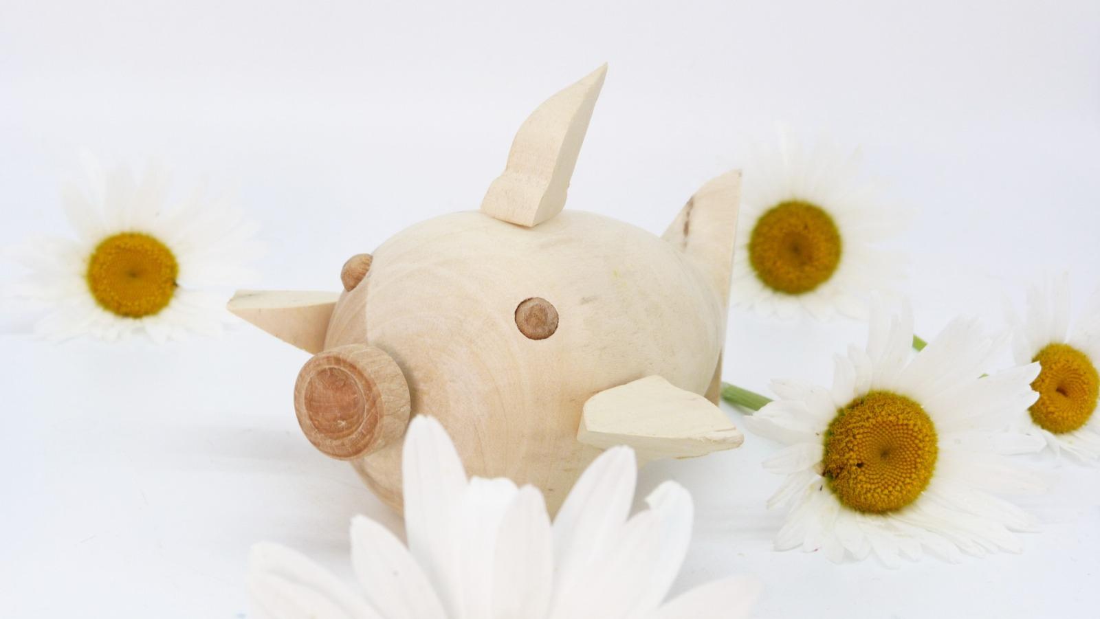 Holz Fisch Pigfish 16
