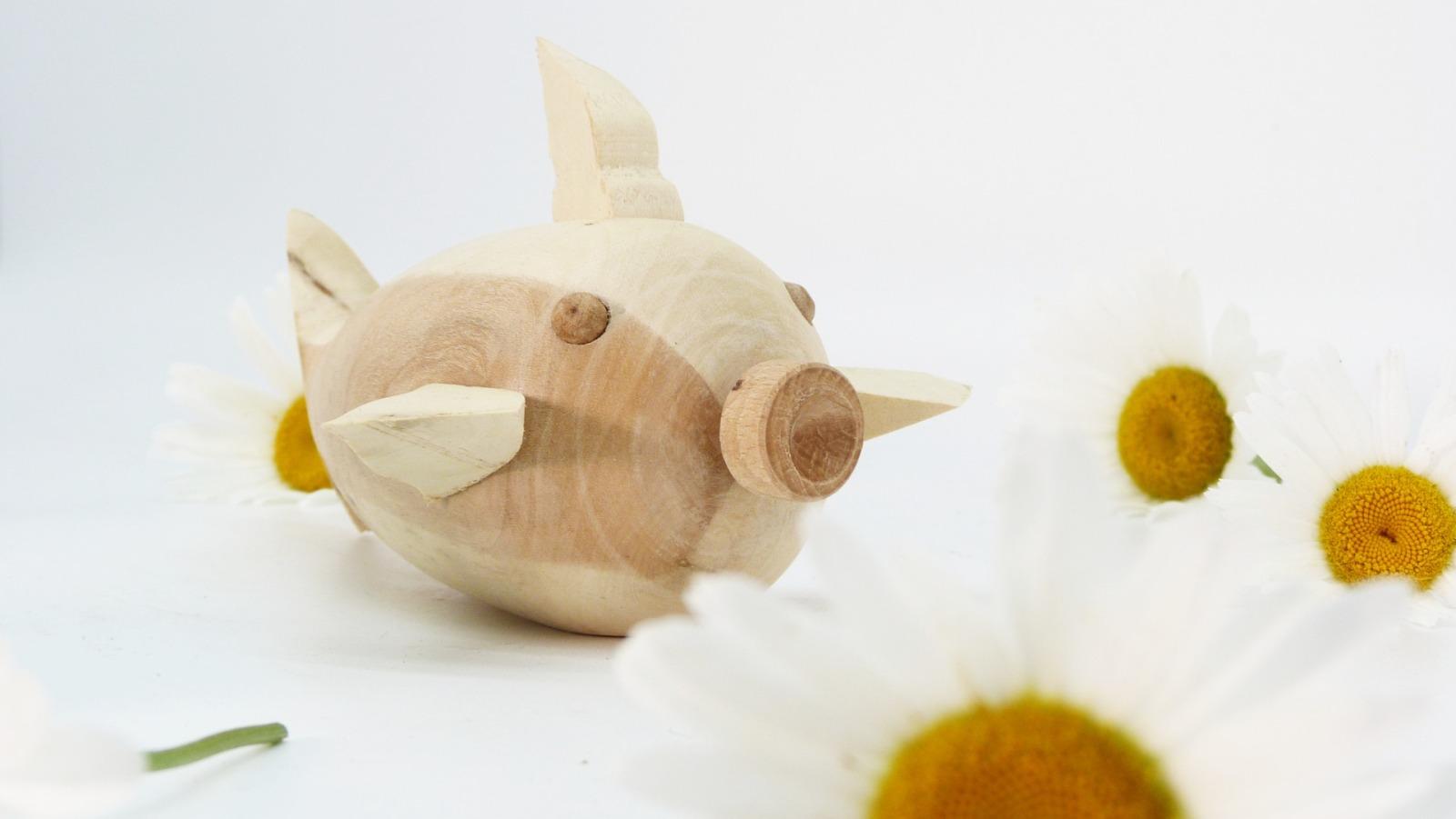 Holz Fisch Pigfish 5