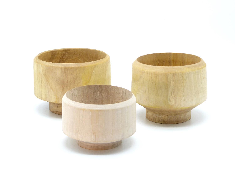 Holzschalen aus Walnussbaum 2