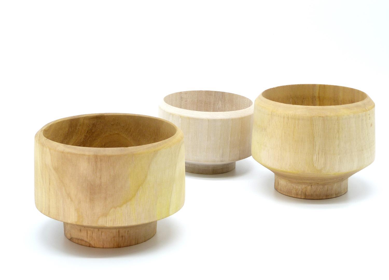 Holzschale groß 11