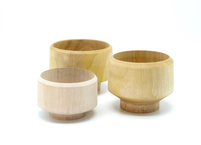 Holzschalen aus Walnussbaum 3