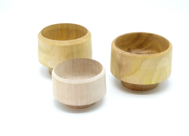 Holzschalen aus Walnussbaum 6