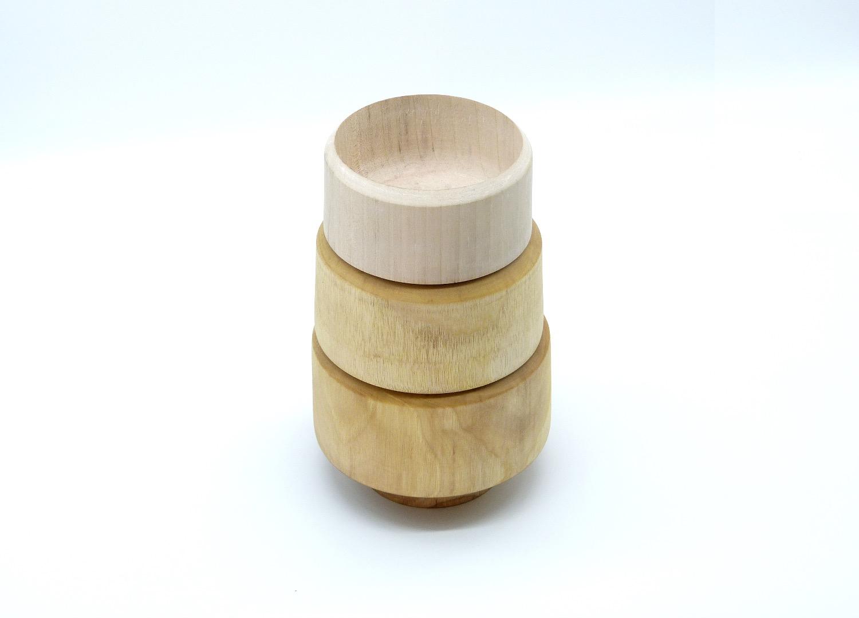 Holzschale mittelgroß 15