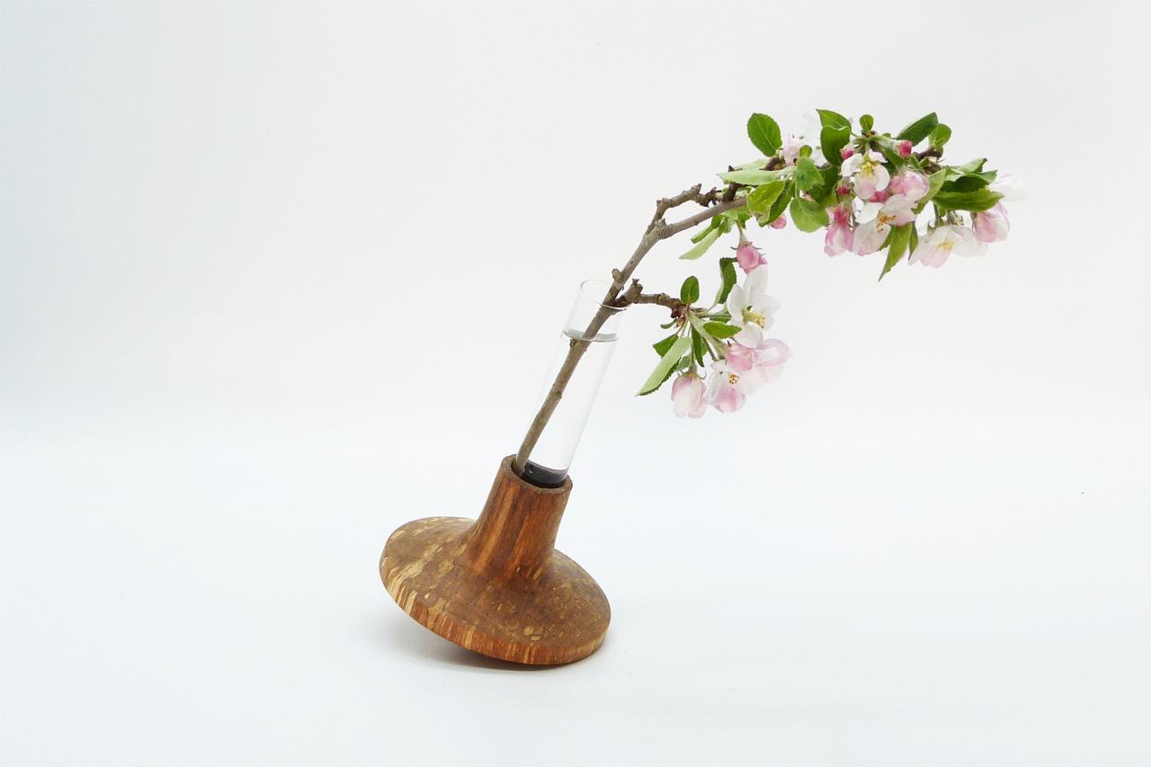 Vase mit Reagenzglas 14