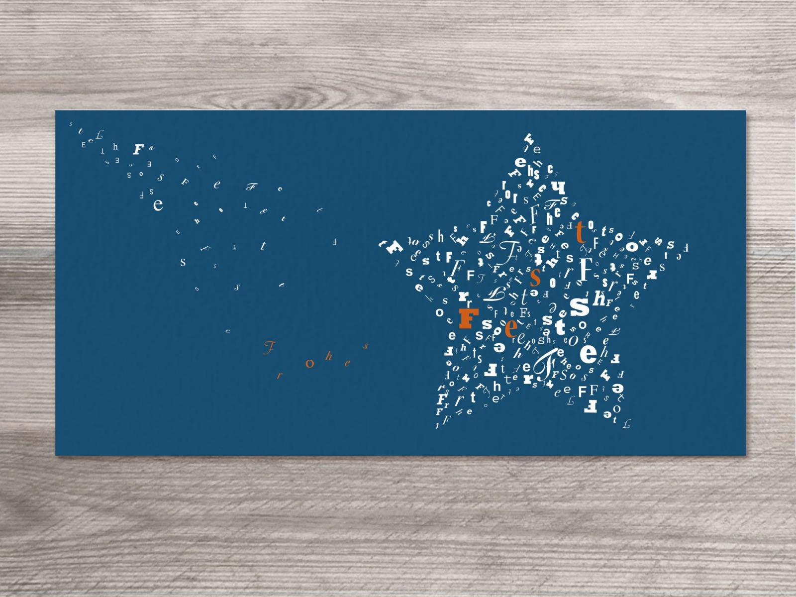 12 x Weihnachtskarten sternstunden Motiv - 1