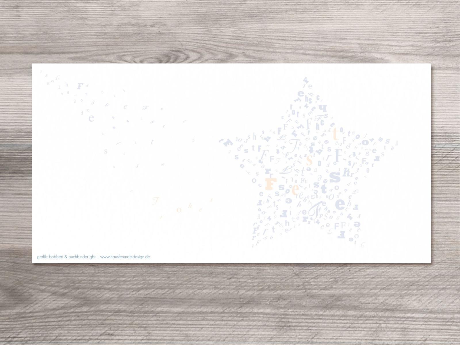 12 x Weihnachtskarten sternstunden Motiv - 2