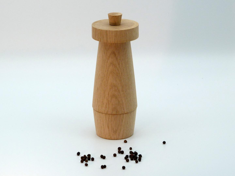 Pfeffermühle Holz Eiche 4