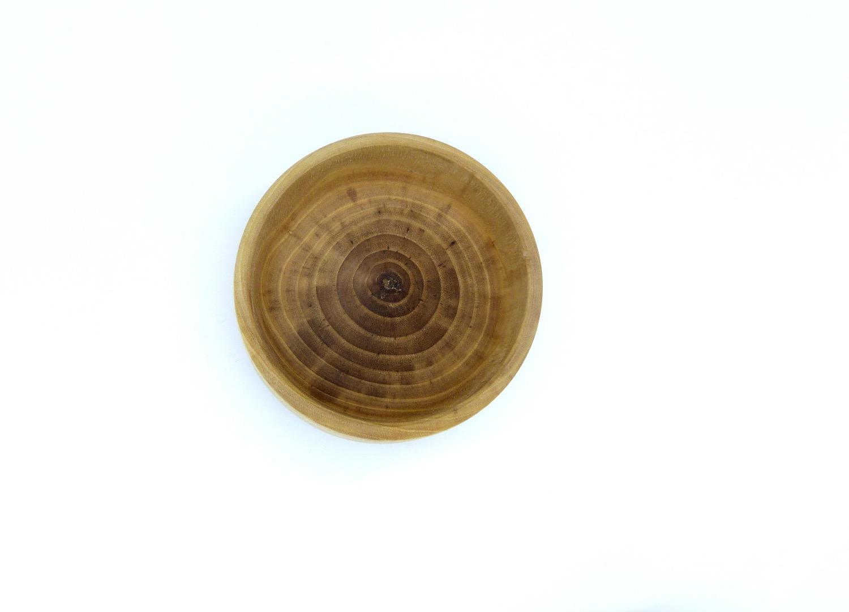 Grosse Schale aus Walnussbaum 8