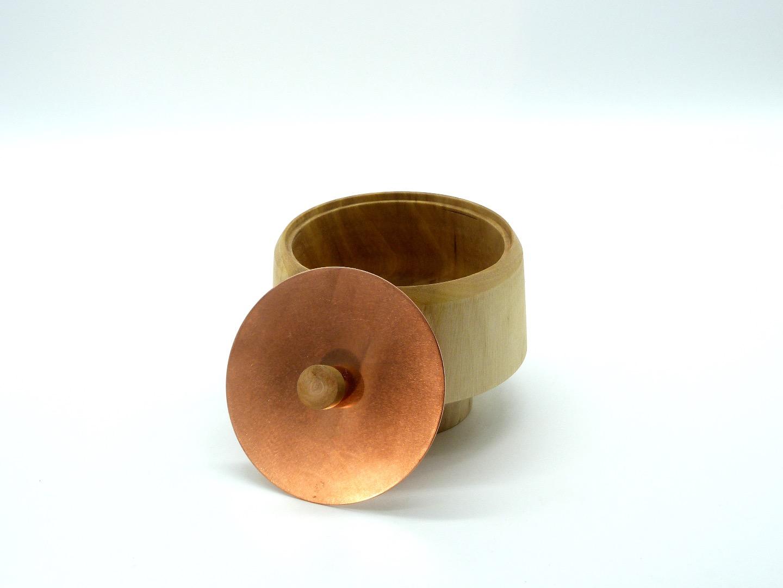 Holzdose mit Deckel 4