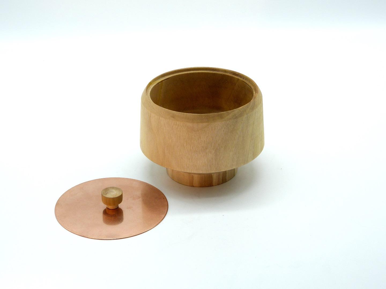 Holzdose mit Deckel 2
