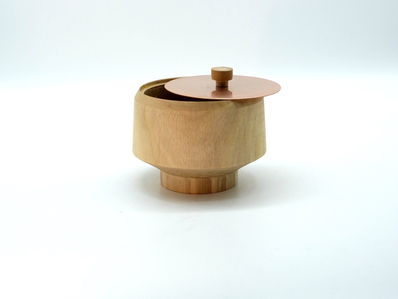 Holzdose mit Deckel 3