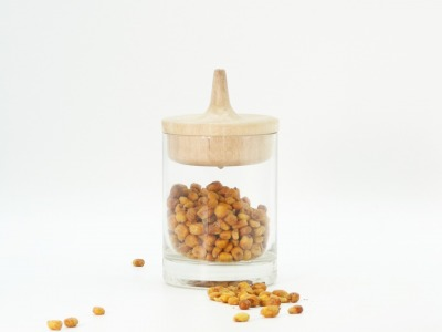 Recycling Kreiselglas aus alter Ginflasche mit