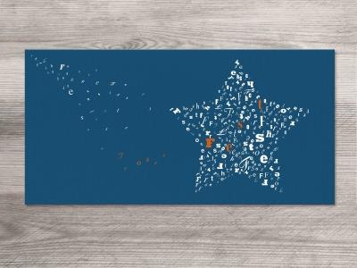 12 x Weihnachtskarten sternstunden Motiv