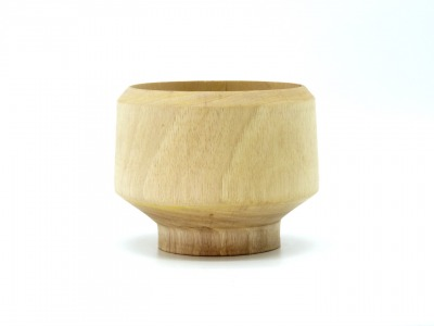Holzschale mittelgroß Handgedrechselte handmade