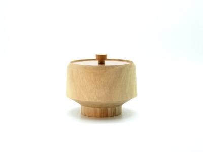 Holzdose mit Deckel Holz aus Walnuss