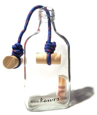 Flaschensafe Knoten Das passt nicht durch