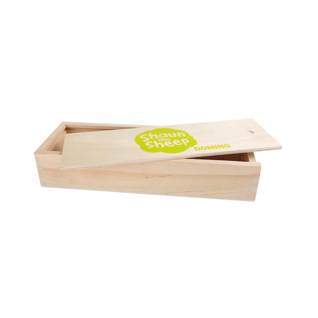 Shaun das Schaf Domino Holzbox 2