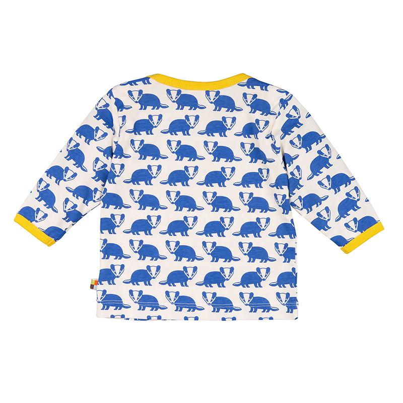 LOUD PROUD Langarm-Shirt Dachse pazifik
