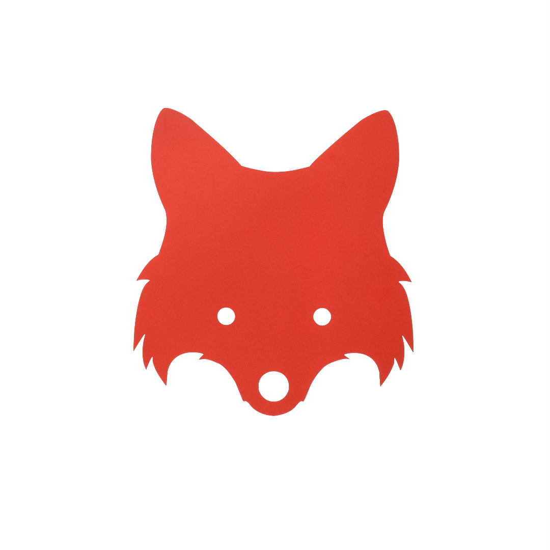Ferm Living Fox Lamp - Red Orange Kinderlampe - 1