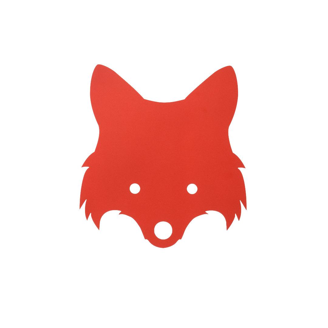 Ferm Living Fox Lamp Red Orange - 1