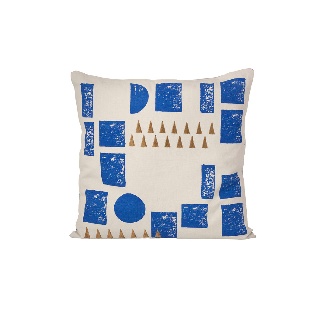 FERM LIVING Kissen Block Cushion mint 100 Bio-Baumwolle 40 x 40