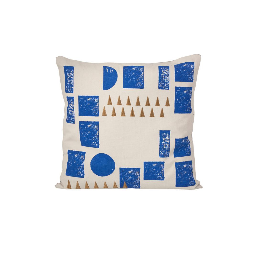 FERM LIVING Kissen Block Cushion mint