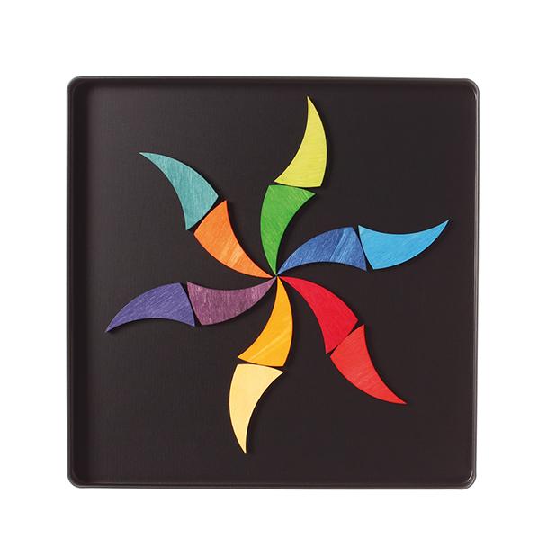 GRIMM S Magnetspiel Regenbogenrad