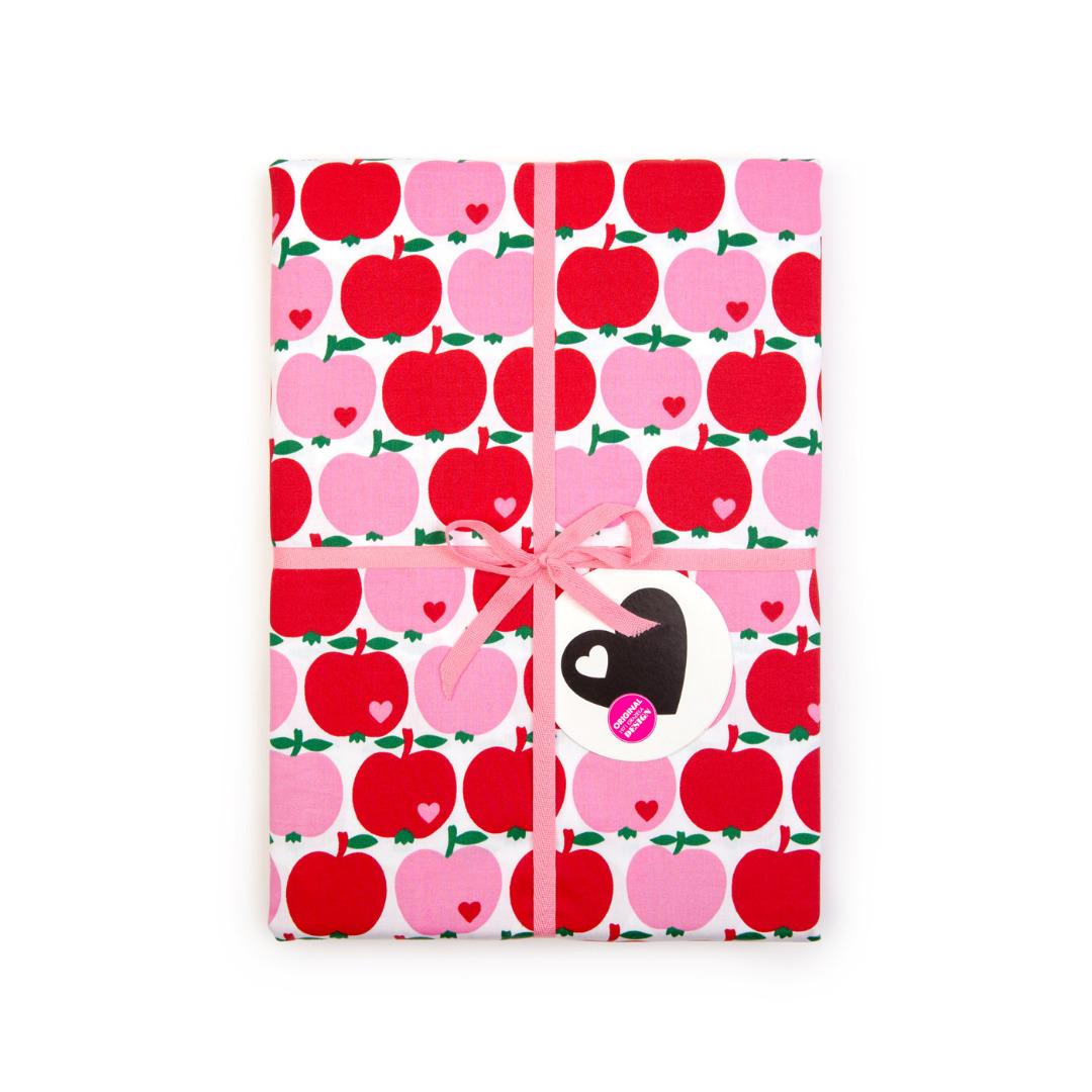 BY GRAZIELA Bettwäsche Apfel Rot pink