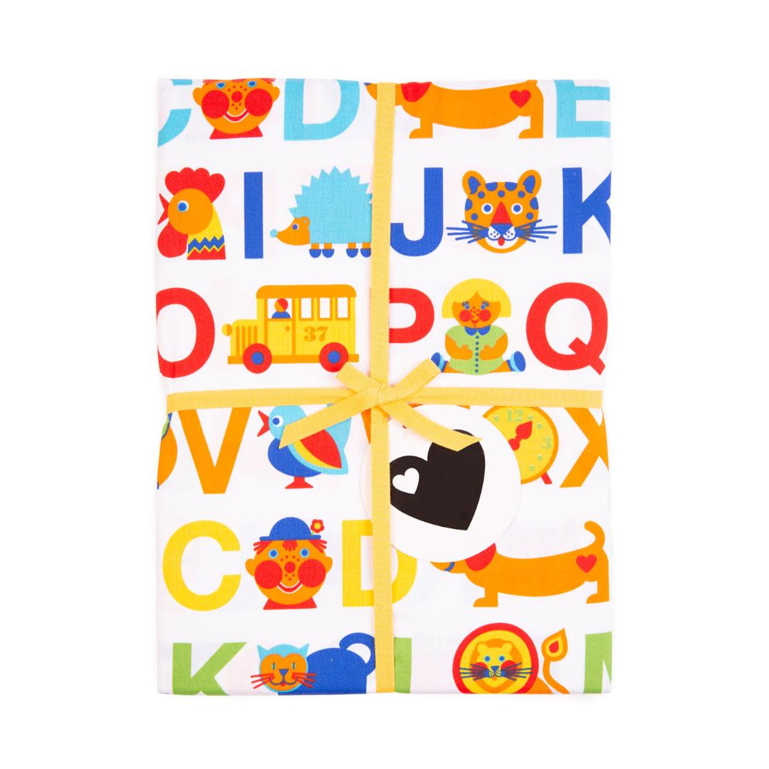 BY GRAZIELA Kinderbettwäsche ABC Regenbogen 4