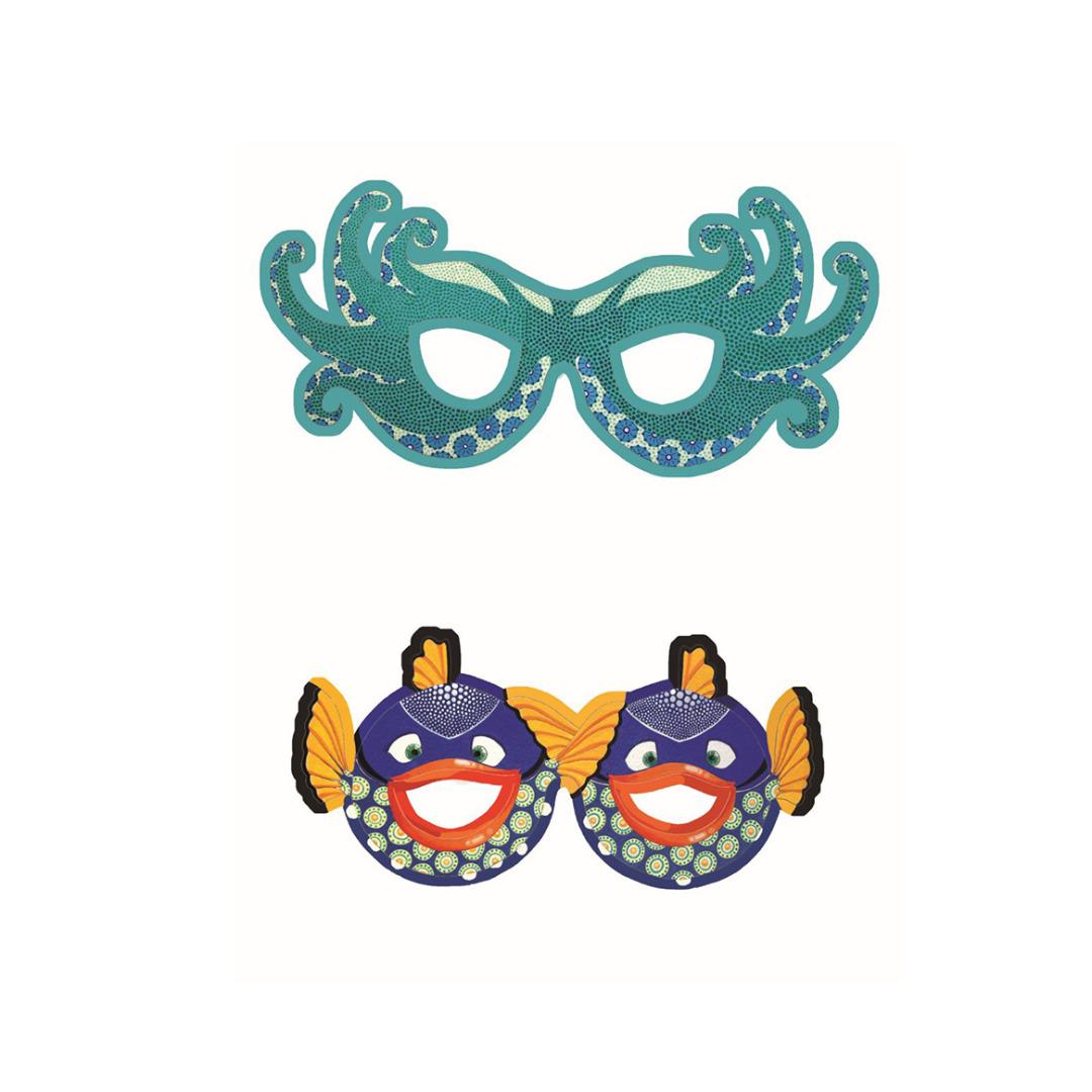 DJECO Masken Brillen 2