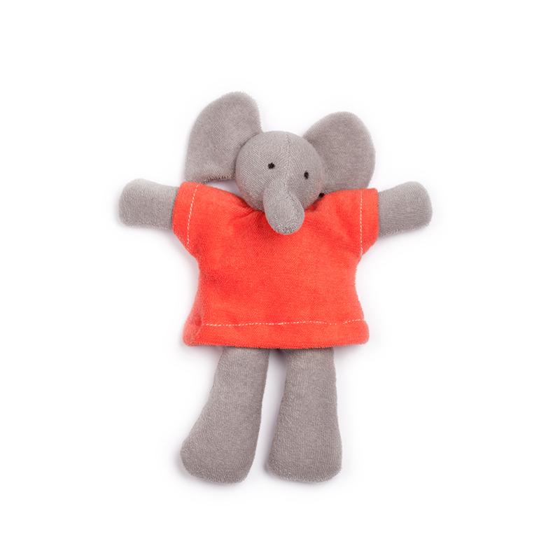 NANCHEN NATUR Ele Elefant rot Bio - 1