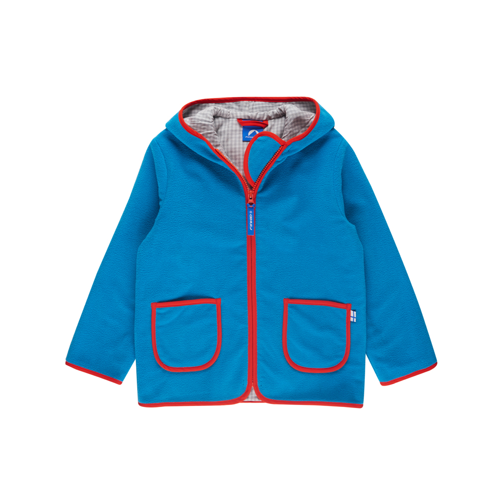 FINKID TONTTU Kinderjacke Fleecejacke Zip in - 1