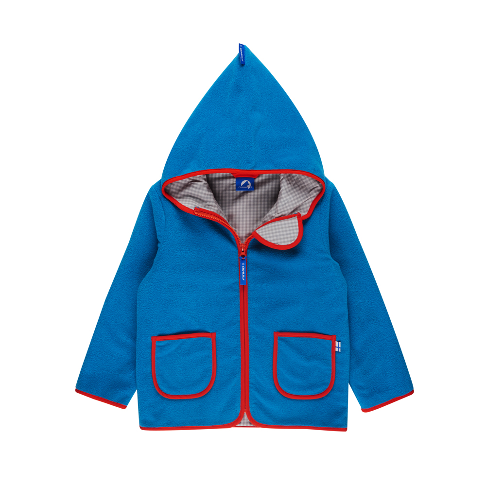 FINKID TONTTU Kinderjacke Fleecejacke Zip in - 2