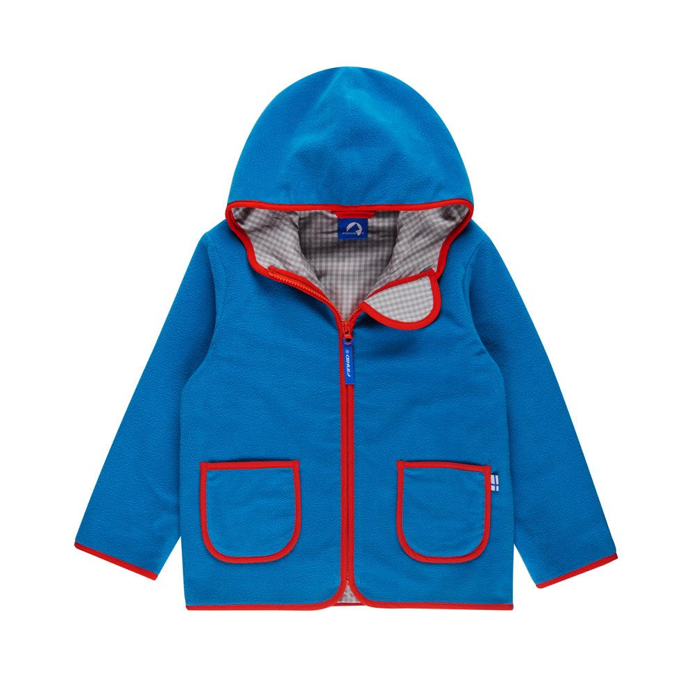 FINKID TONTTU Kinderjacke Fleecejacke Zip in - 4