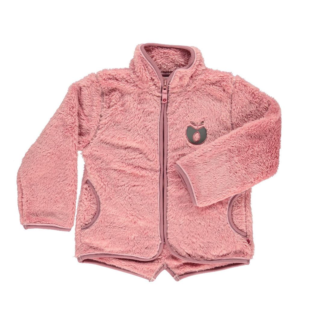 SMAFOLK Kinder Fleecejacke rosa