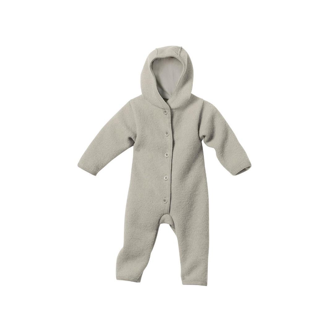 Disana Baby Walk-Overall grau Gr. 74/80 Bio-Schurwolle kbT