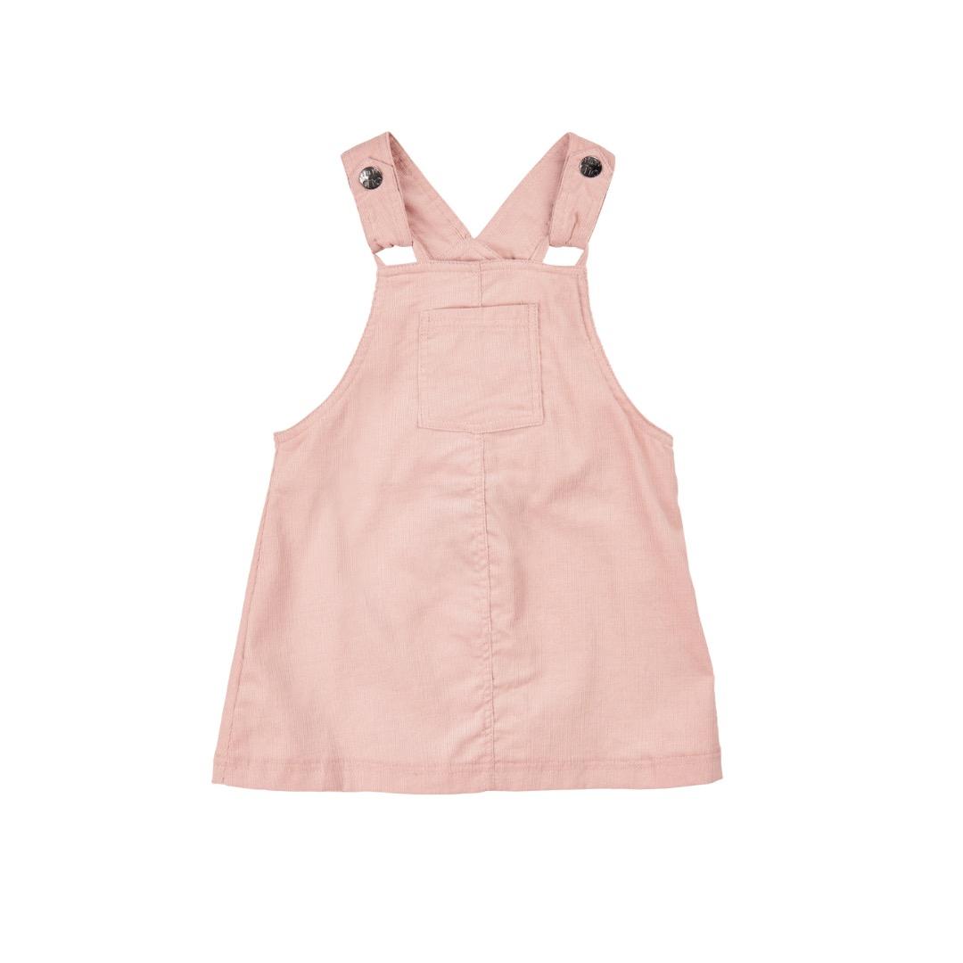 MINYMO Baby Trägerkleid Nicole Cord rosa - 1