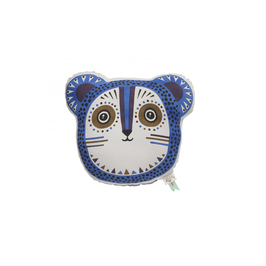 FERM LIVING Billy Bear mit Füllung Organic Cotton Farbe Blue