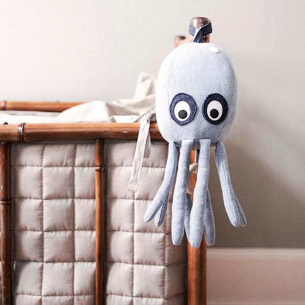Ferm Living Octopus Music Mobile Denim