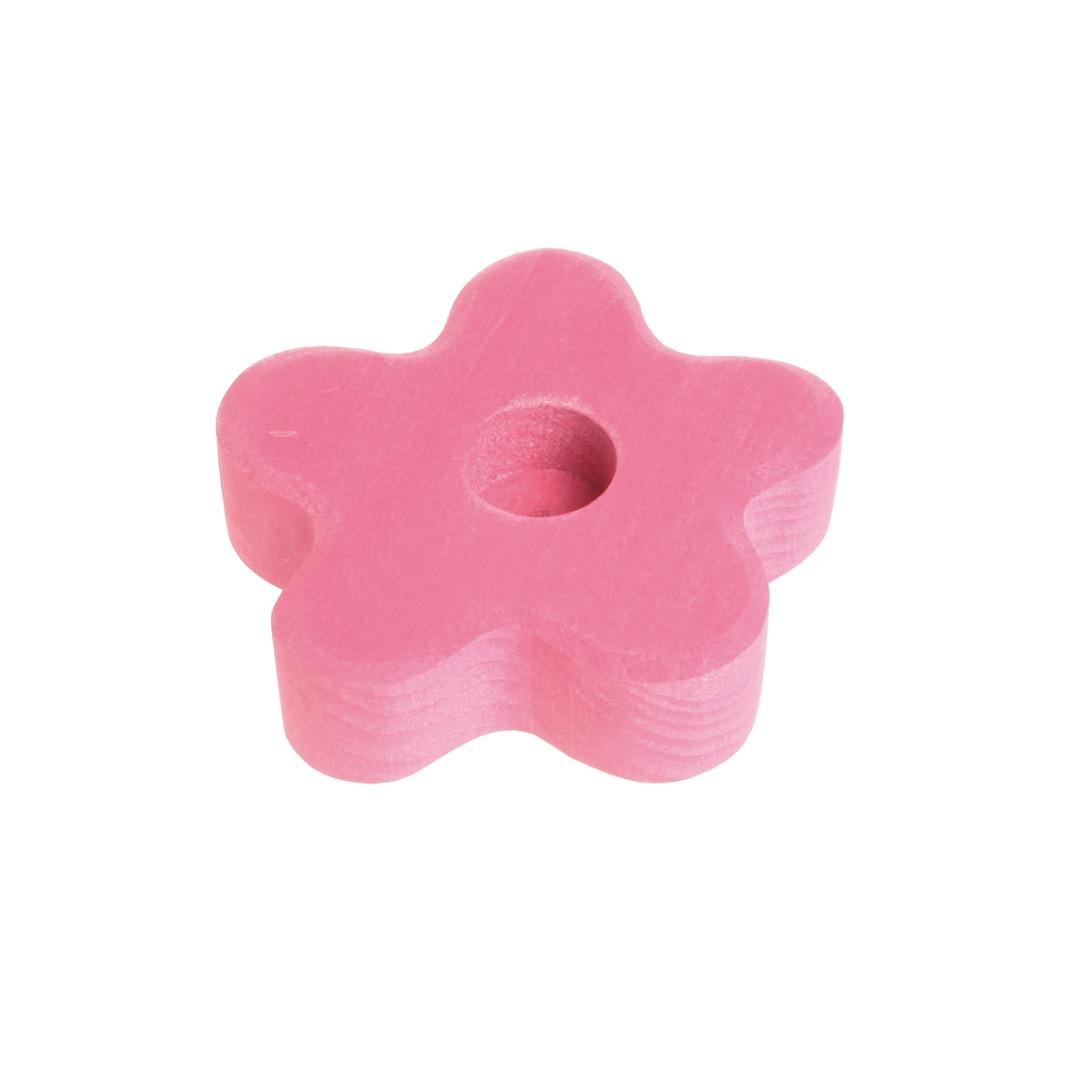 GRIMM S Lebenslicht Blume rosa Geburtstagsdeko - 1
